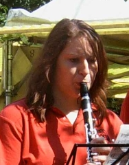 Sarah Mayer, Oliver Nowarra, <b>Stefanie Theis</b> - SarahMayer_August2006Lindenhofkerwe